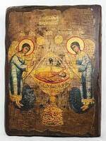 Агнец Божий, икона под старину, сургуч (17 Х 23)