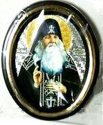 Амфилохий Почаевский. Икона настольная малая, зол. кант, овал. (50 Х 65)