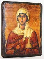 Анастасия, Св.Мч, икона под старину, сургуч (13 Х 17)