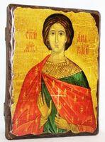 Анатолий, Св.Мч, икона под старину, сургуч (13 Х 17)