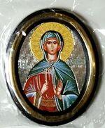 Антонина. Икона настольная малая, зол. кант, овал. (50 Х 65)