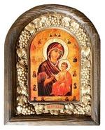 Иверская Б.М. Икона Иерусалимская арочная
