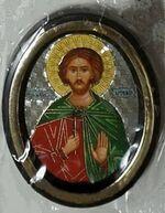 Артемий. Икона настольная малая, зол. кант, овал. (50 Х 65)