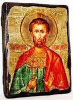 Богдан (Феодот), икона под старину, сургуч (13 Х 17)