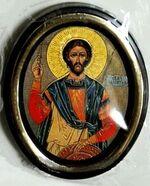 Валентин. Икона настольная малая, зол. кант, овал. (50 Х 65)