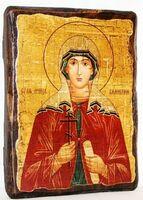 Валентина, Св.Муч, икона под старину, сургуч (13 Х 17)