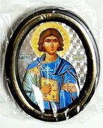 Валерий. Икона настольная малая, зол. кант, овал. (50 Х 65)