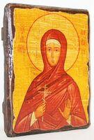 Варвара, Св.Муч, икона под старину, сургуч (13 Х 17)