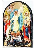 Воскресение Христово, икона синайская, арка, 17 Х 23
