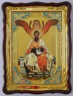 Евангелист Марк, в фигурном киоте, с багетом. Храмовая икона (60 Х 80)