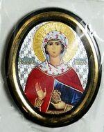 Иоанна. Икона настольная малая, зол. кант, овал. (50 Х 65)