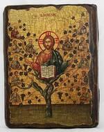 Лоза истинная, икона под старину, сургуч (13 Х 17)
