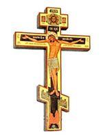 Крест подвесной деревянный (01) прямой