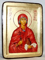 Мария Магдалина, икона Греческая, 13 Х 17