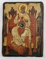 Отечество, икона под старину, сургуч (13 Х 17)