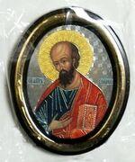 Павел. Икона настольная малая, зол. кант, овал. (50 Х 65)
