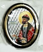 Ростислав. Икона настольная малая, зол. кант, овал. (50 Х 65)
