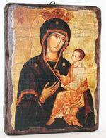 Скоропослушница Б.М., икона под старину, сургуч (13 Х 17)