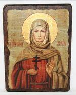 София, Св.Мч., икона под старину, сургуч (17 Х 23)