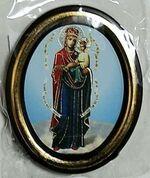 Споручница Грешных Б.М. Икона настольная малая, зол. кант, овал. (50 Х 65)