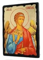 Ангел Хранитель (пояс, цвет), икона синайская, 13 Х 17