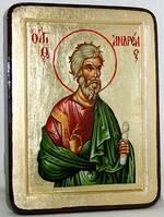 Андрей Первозванный, икона Греческая, 13 Х 17