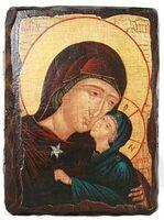 Анна, Св.Пр., икона под старину, сургуч (13 Х 17)