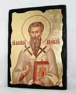 Василий Вел., икона синайская, 13 Х 17