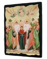 Вознесение Господне, икона синайская, 13 Х 17
