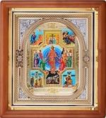 Вознесение Христово, икона аналойная, риза, упаковка, (23 Х 26)