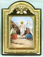 """Воскресение Христово, икона пластиковая большая """"Голубь"""" 14 Х 19"""