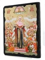 Всех скорбящих радость Б.М., икона синайская, 13 Х 17