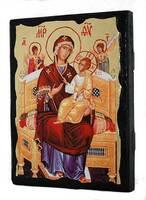 Всецарица Б.М., икона синайская, 13 Х 17