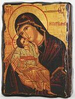 Гликофилуса Б.М., икона под старину, сургуч (13 Х 17)
