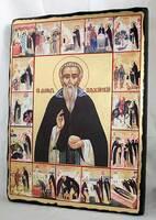 Давид Гарджийский, икона синайская, 13 Х 17