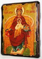 Державная Б.М., икона под старину, сургуч (17 Х 23)
