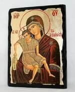 Достойно есть Б.М., икона синайская, 13 Х 17