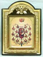 """Древо Богородицы, икона пластиковая большая """"Голубь"""" (Пл-08-112)"""