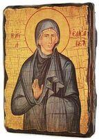 Елисавета, Св.Праведная, икона под старину, сургуч (13 Х 17)