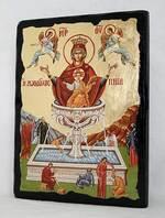 Живоносный источник Б.М., икона синайская, 13 Х 17