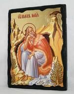 Илья Пророк, икона синайская, 13 Х 17