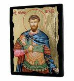 Иоанн воин, икона синайская, 13 Х 17
