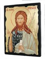 Иоанн Креститель, икона синайская, 13 Х 17