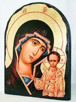 Казанская Б.М., икона синайская, арка, 17 Х 23