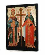 Константин и Елена, икона синайская, 13 Х 17