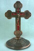 Крест настольный металлический (109)