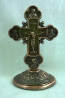 Крест настольный металлический (151)
