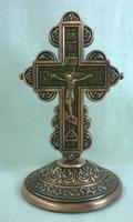 Крест настольный металлический (141)
