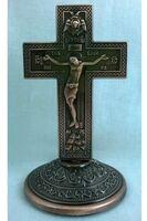 Крест настольный металлический (114)