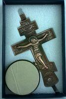 Крест настольный металлический (123)